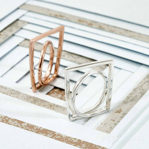 Rose Gold Ring | Neola British Handmade Jewellery