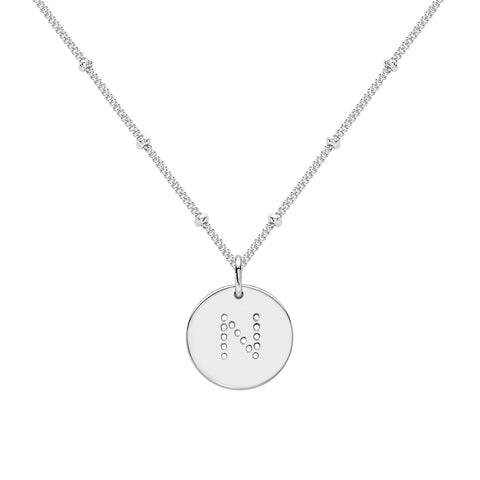 ALPHABET R NECKLACE