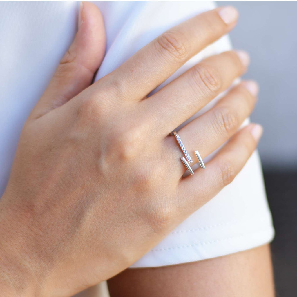Neringa Silver Stacking Ring