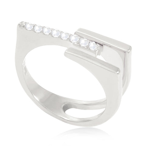 Minerva Bar Stacking Ring