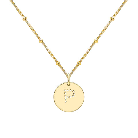 ALPHABET P NECKLACE