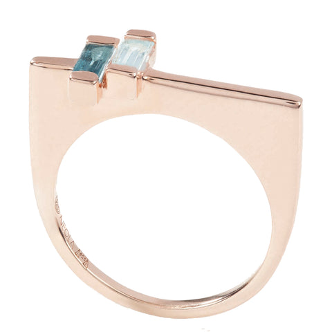 Minerva Stacking Ring