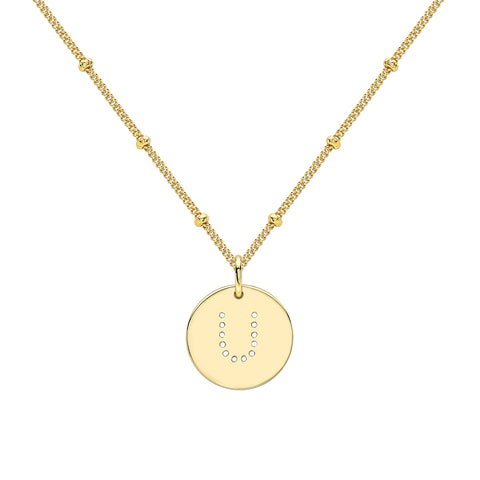ALPHABET D NECKLACE