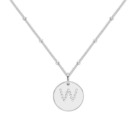 ALPHABET H NECKLACE