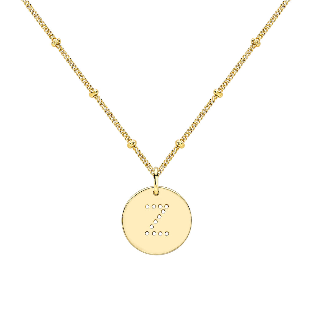 ALPHABET Z NECKLACE