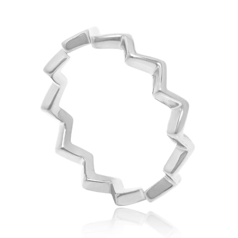 ZIGGY SILVER STACKING RING