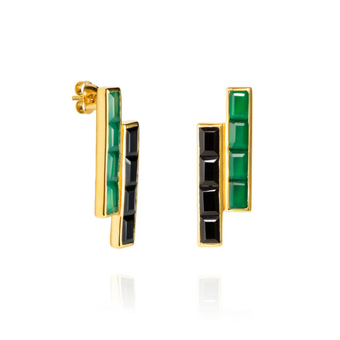 Equilibrium Gold Earrings
