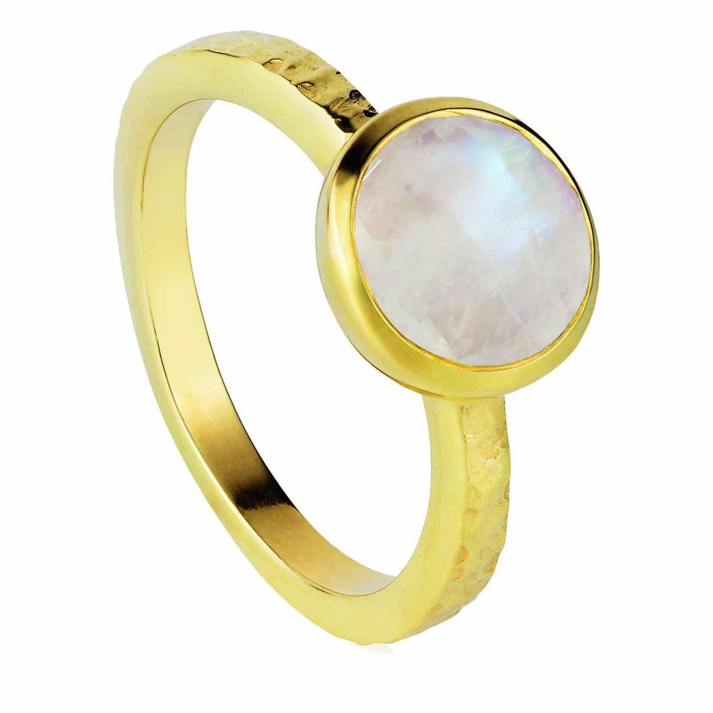 moonstone, stacking, ring, gemstone, neola design