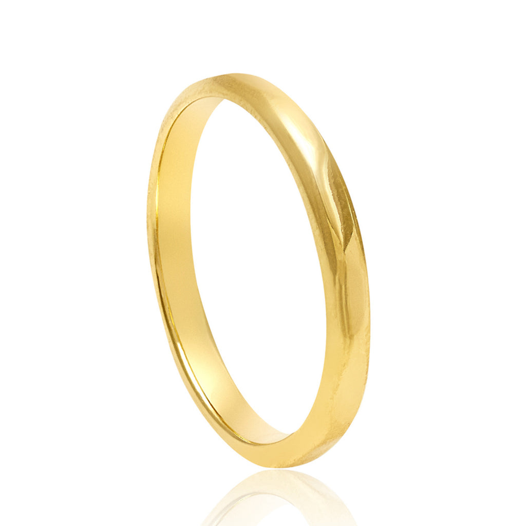 Eternity Gold Stacking Ring