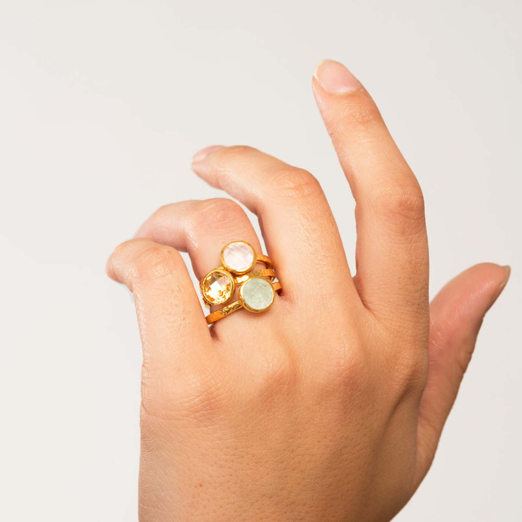 Estella Gold Stacking Ring