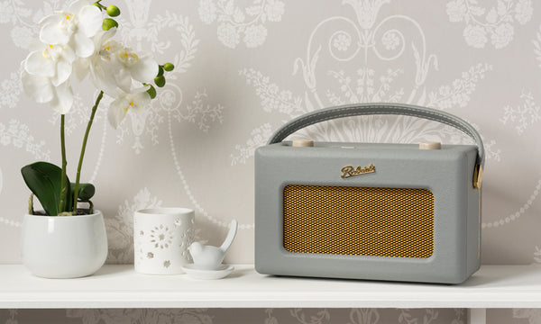 Roberts Revival Uno DAB Radio - Dove Grey