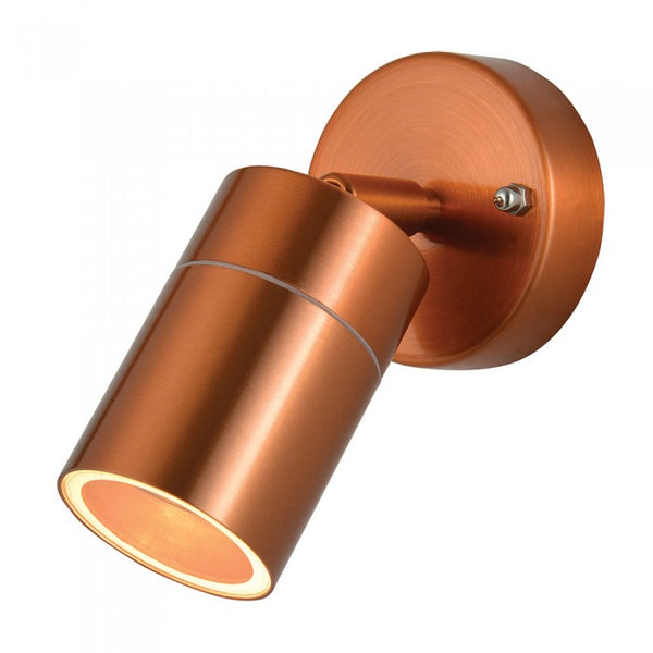 Forum Copper Outdoor Wall Light- 35W- Adjustable - P44