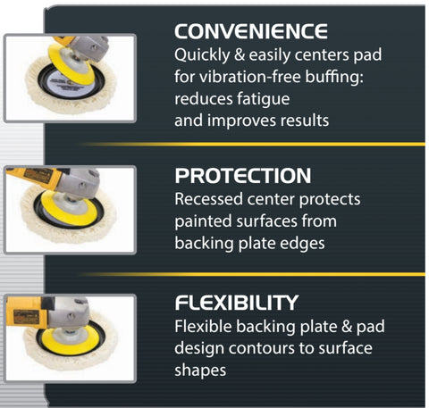 Buff and Shine Center Ring System Overview Picture