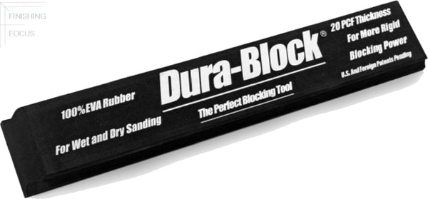 Dura-Block AF4419, 16 Inch Hook & Loop Block