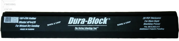 Dura-Block AF4426, 30 Inch Hook & Loop Sanding Block