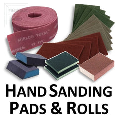 Hand Sanding Pads, Scuff Pads and Scuff Rolls