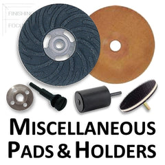 Miscellaneous Backup Pads and Disc Holders