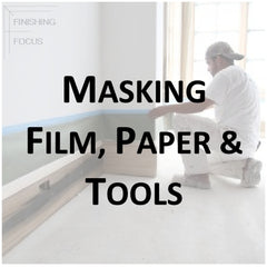 Paint Supplies - Masking Paper, Film and Tools