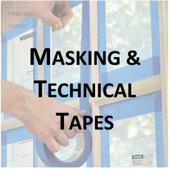 Paint Supplies - Masking and Technical Tapes
