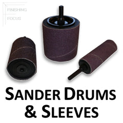 Sander Expanding Rubber Drums and Barrel Sanders