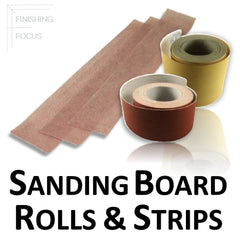 Sanding Board Rolls and Strips