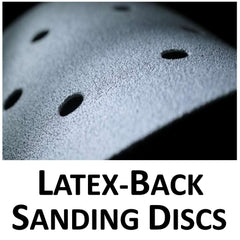 Sanding Discs, Latex Backing