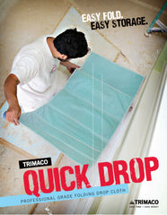 Trimaco One-Tuff Quick Drop Matt, 2' x 7', Picture