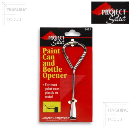 Project Select Paint Can Lid and Bottle Opener, 5421