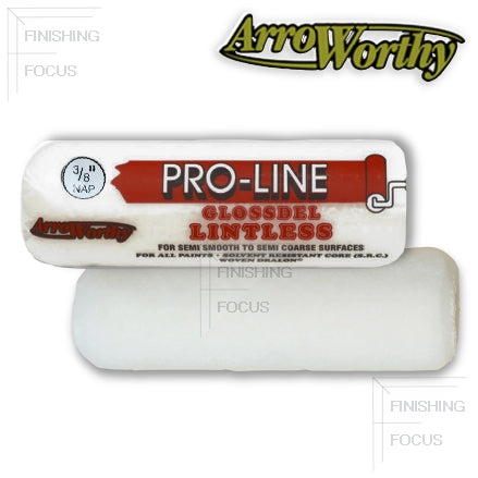 "ArroWorthy Pro-Line Glossdel 7 Inch Roller Covers, 3/8"" Nap, 7FGL3"