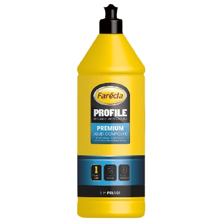 Farecla Profile Premium Liquid Compound, 1 Liter Bottle