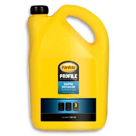 Farecla Rapid Detailer Cleaner and Wax, 1 Gal, PRD106