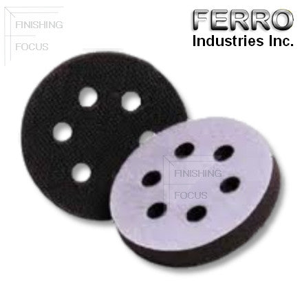"Ferro 6"" 6-Hole Foam Interface Pad, J06-6H"