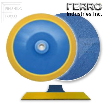 "Ferro 8"" Medium PSA Backup Pad, 60658V"