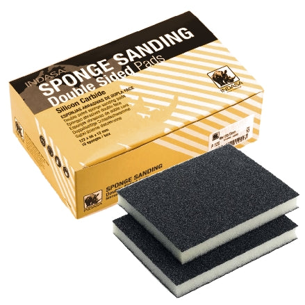 Indasa Double Sided Sponge Hand Sanding Pads, 3100B Series