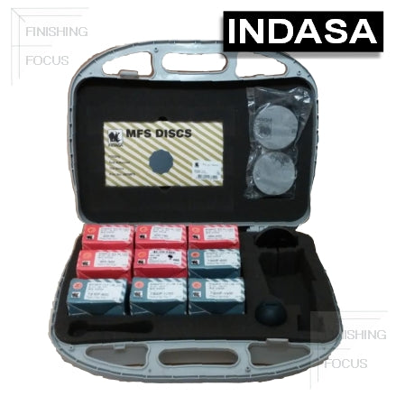 "Indasa Spot Repair Kit with 3"" Solid Sanding Discs, 3SPTKIT"