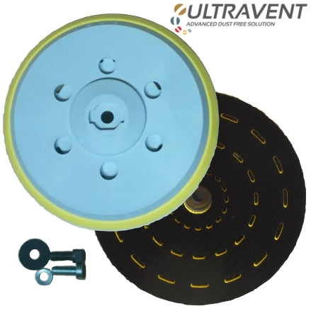 "Indasa 6"" Ultravent Multi-Hole Grip Backup Pad, 561836"