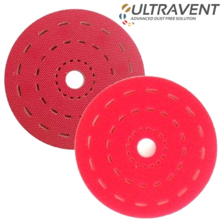 "Indasa 6"" Ultravent Multi-Hole Foam Interface Pad, 561843"