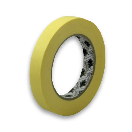 Indasa MTY Premium Yellow Masking Tape, 18mm, 556740, single roll