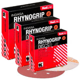 Indasa Rhynogrip RedLine Vacuum Sanding Discs Collection
