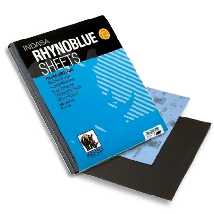 Indasa RhynoBlue Cloth Backed Sanding Sheets, 8 Series