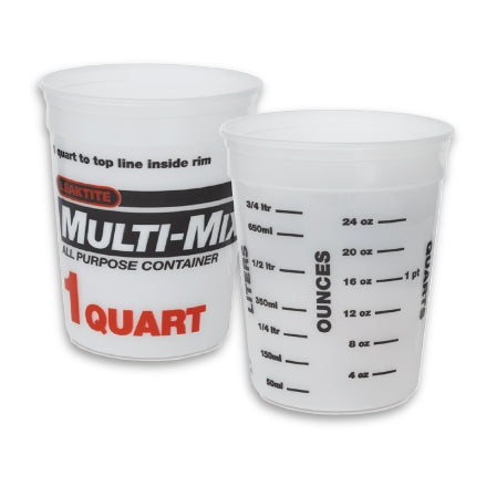 Leaktite 1 Quart Multi-Mix Container, 2M3
