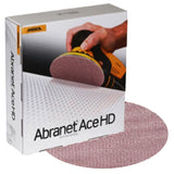 "Mirka 8"" Abranet Ace HD Sanding Disc Collection, AH-252 Series"