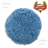 "Presta 9"" Wool, Blue Soft Polishing Grip Pad, 890144, 2"