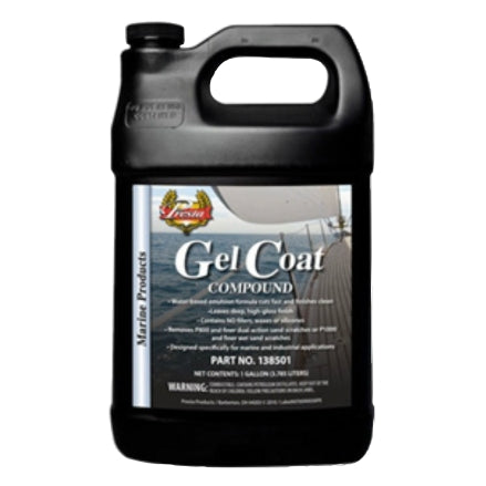 Presta Gel Coat Compound, 1 Gal