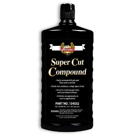 Presta Super Cut Compound, 32 Oz, 134532