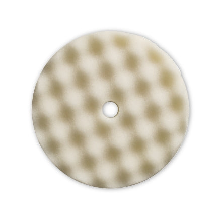 "Presta 8"" Foam, Waffle, White Compounding Grip Pad, 890171"