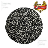 "Presta 9"" Wool, Black and White Heavy Cutting Grip Pad, 890146, 2"