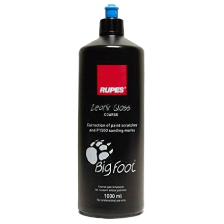 RUPES Zephir Gloss Coarse Gel Compound, 1 Liter, 9.BFZEPHIR