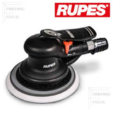 "RUPES SKORPIO III 6"" Vacuum-Ready Sander, 3mm Random Orbit, RH353A"