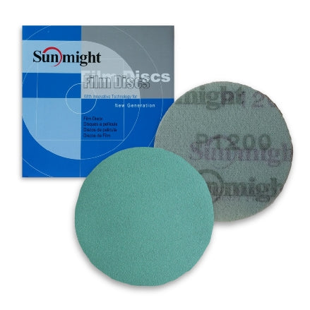"Sunmight Film 3"" Solid Grip Sanding Discs"
